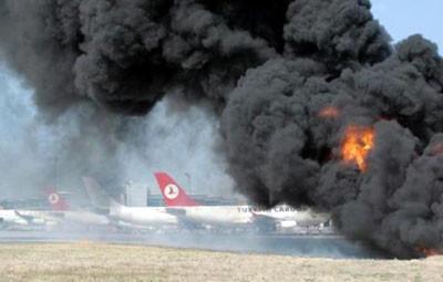 Atatürk Havalimanında korkutan tatbikat