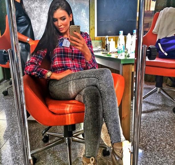 Rusya'nın en güzel kızı