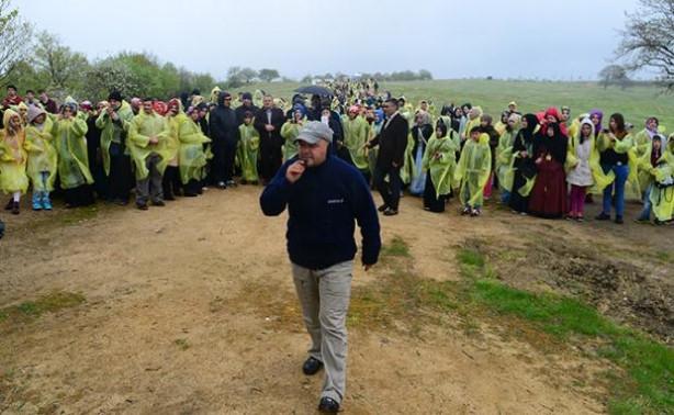 Tuzla'da temsili hicret yürüyüşü
