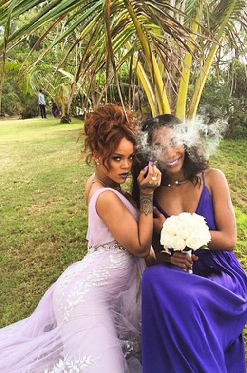 Çılgın nedime Rihanna