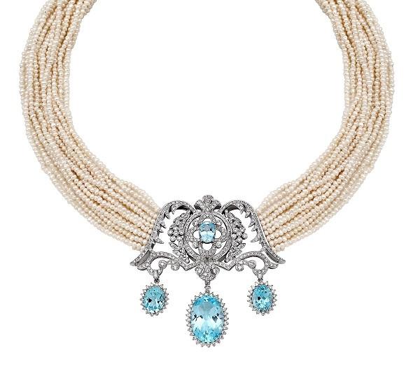 Gelinlerin güzelliğine zarafet katan mücevherler