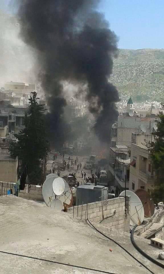 Pazar yerini bombaladılar!.. 30 ölü, çok sayıda yaralı var!