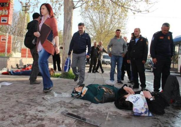 Ankara'da trafik kazası, 15 yaralı