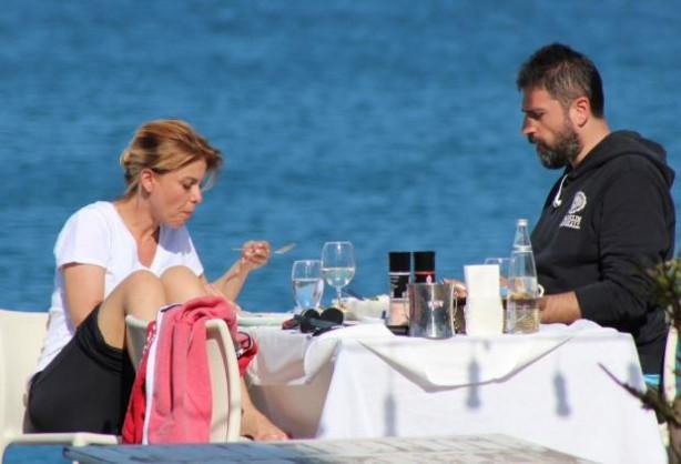 Gülben Ergen ve Erhan Çelik'in Bodrum romantizmi
