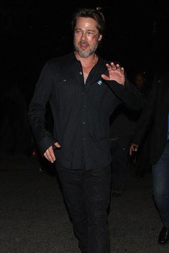 Brad Pitt tanınmaz halde