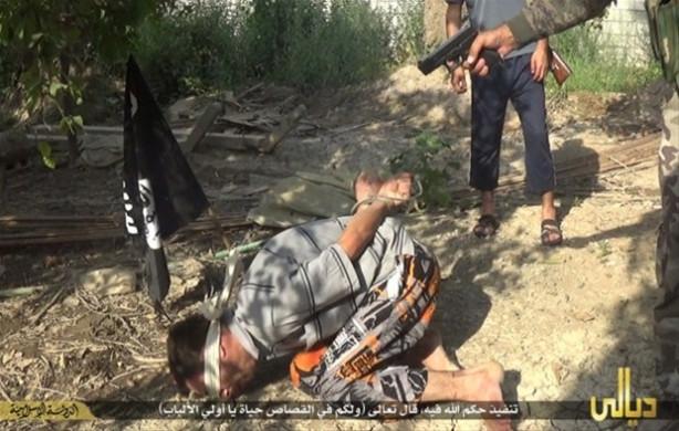 Kafasına tek kurşun sıkarak infaz ettiler!