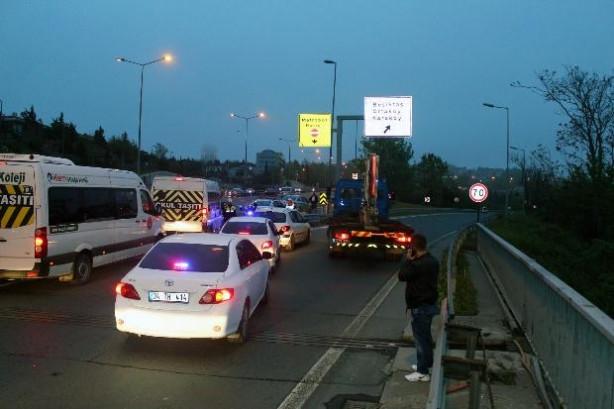 Taksim'e çıkan yollar trafiğe kapatıldı