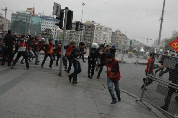 Taksim'de 1 Mayıs olayları