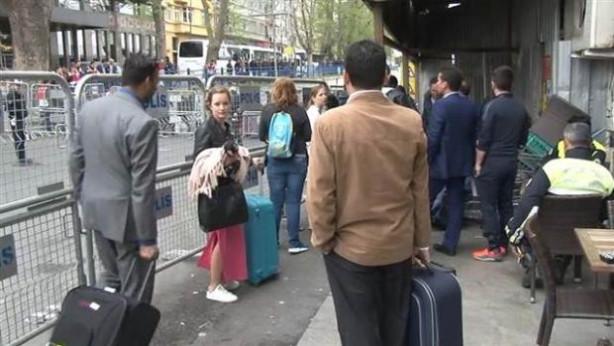 Turistlerin 1 Mayıs'la imtihanı