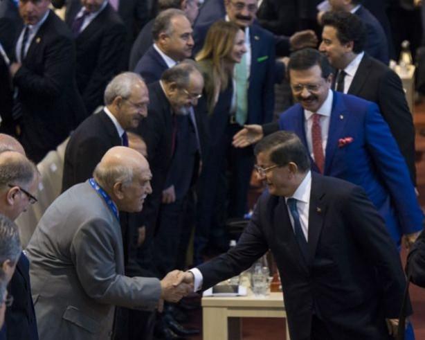 Davutoğlu ile Kılıçdaroğlu ne konuştu ?