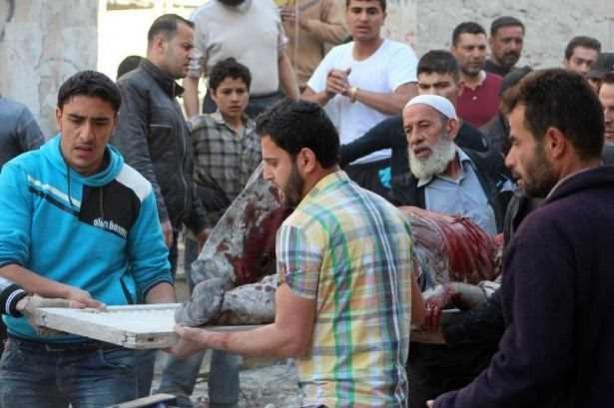 Suriye'de anaokulu katliamı