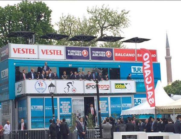 51. Cumhurbaşkanlığı Bisiklet Turu'nda tören skandalı