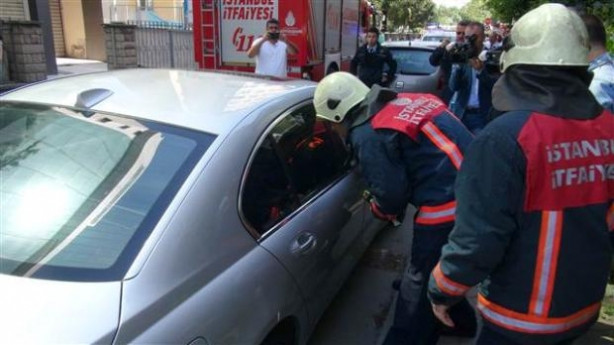 Ataşehir'de kurtarma operasyonu