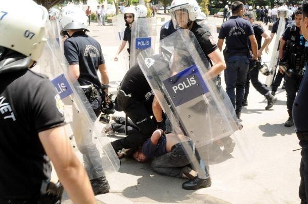 Üniversitede Soma gerginliği: 10 gözaltı