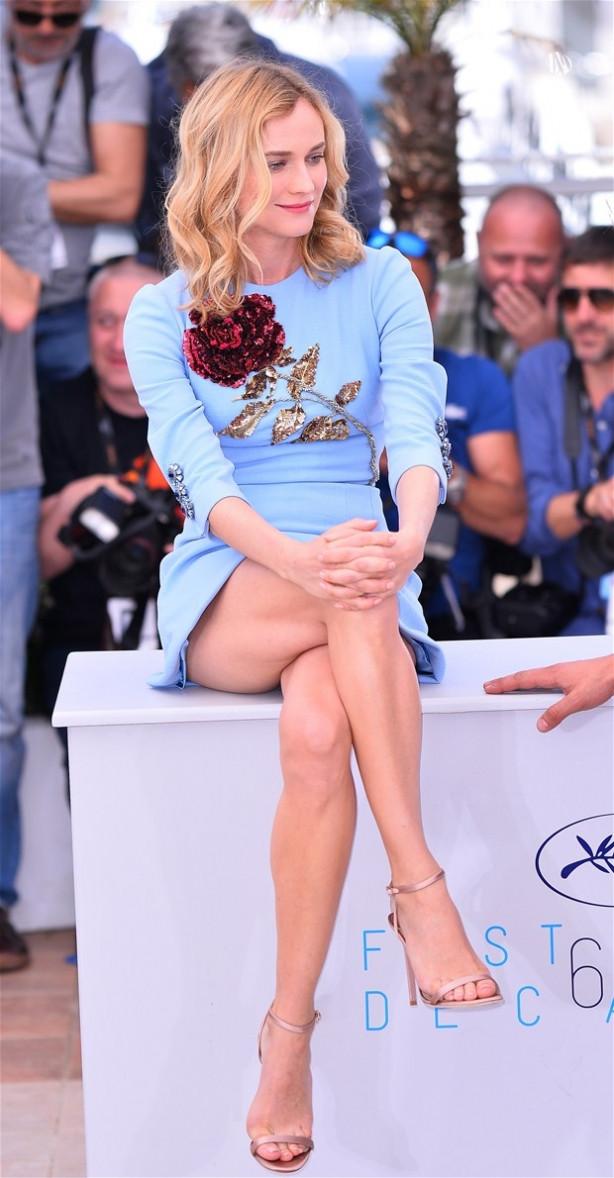 Diane Kruger'dan inanılmaz frikik