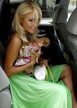 Paris Hilton ve Nicole Richie izdiham yarattı