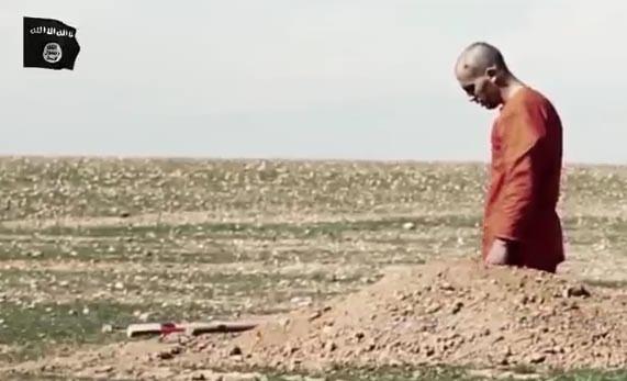 Kendi mezarını kazdı