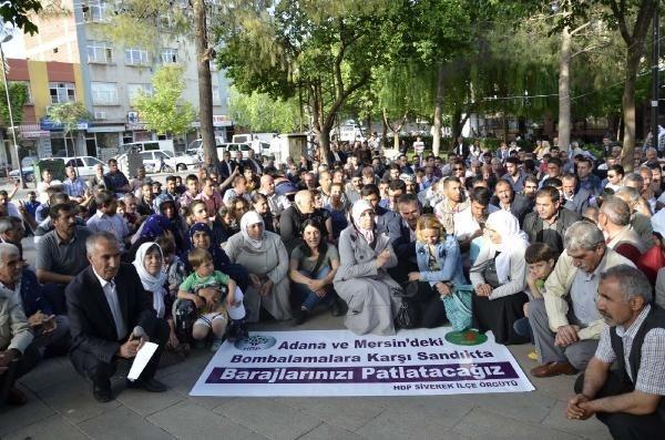 HDP saldırılarına protesto