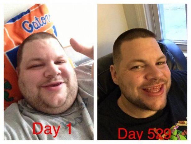 300 kiloluk adamın değişimi