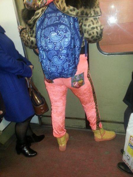 Metroda görebileceğiniz en acayip tipler
