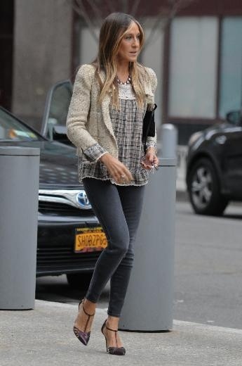 Sarah Jessica Parker'in sokak stili