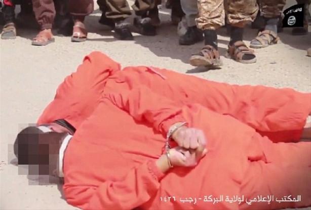 IŞİD yine katliam yaptı !