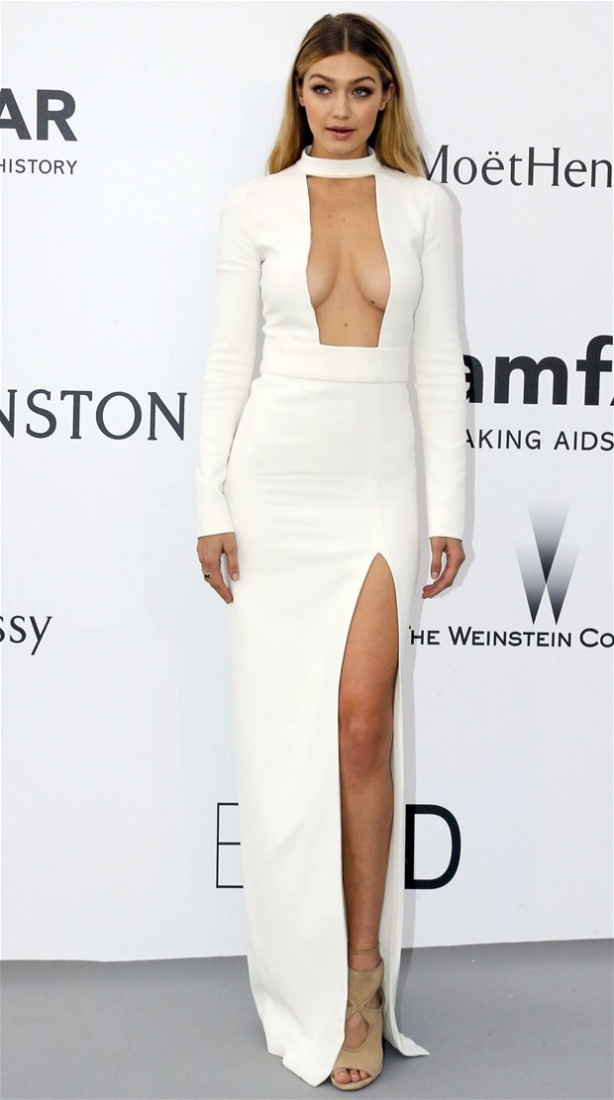 Cannes melekleri nefes kesti