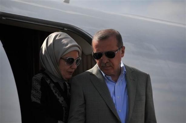 Cumhurbaşkanı Erdoğan driftle karşılandı
