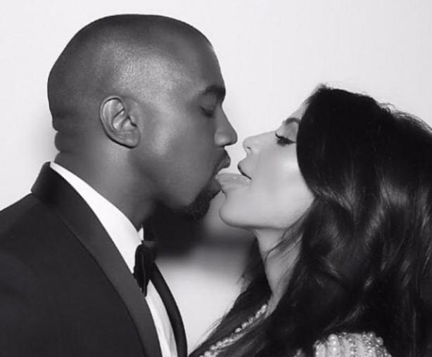 Kim Kardashian ve Kanye West birinci evlilik yıldönümünü kutladı