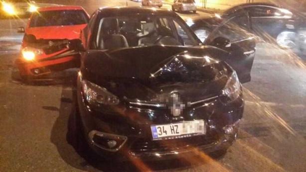 Tahsin Taşkın, trafik kazası geçirdi