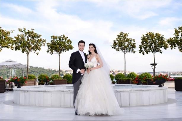 Hatice Şendil-Burak Sağyaşar çifti evlendi