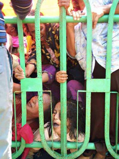 Savaş alanı değil Ramazan yardımı