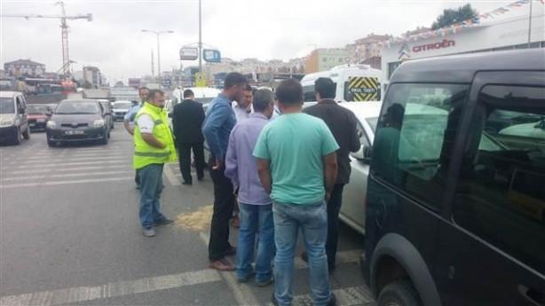 Şile yolunda 11 araç birbirine girdi