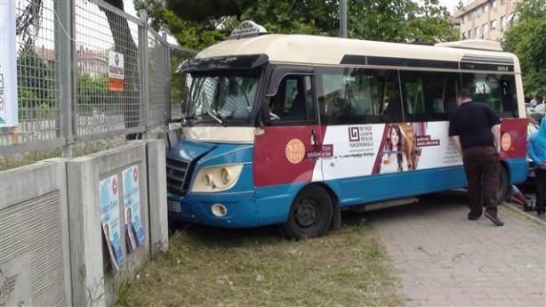 Kartal'da minibüsçü dehşeti