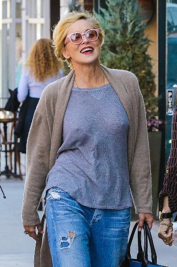 Sharon Stone'un kendine güveni tam