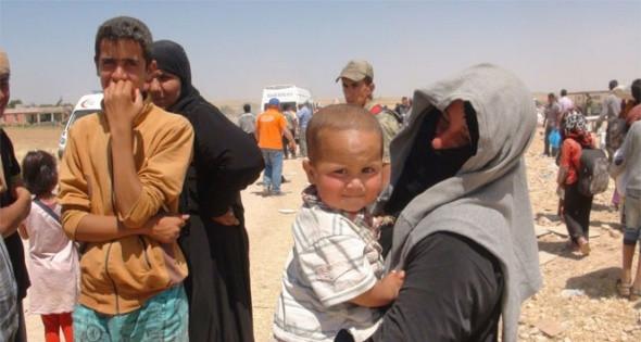 3 bin 500 Suriyeli Türkiye'ye geçiş yaptı