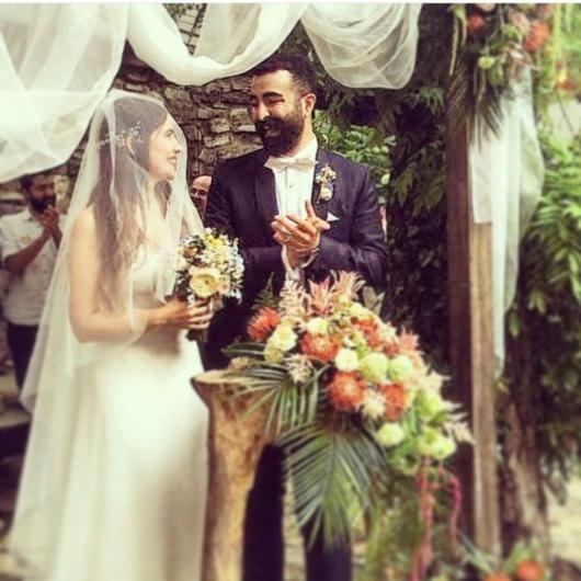 Zeynep Çamcı ve Serhat Bayram evlendi