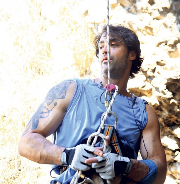 Sarp Levendoğlu tırmanış sahneleri için dublör kullanmadı