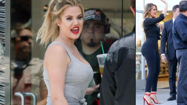 Khloe Kardashian herkesi kandırmış...