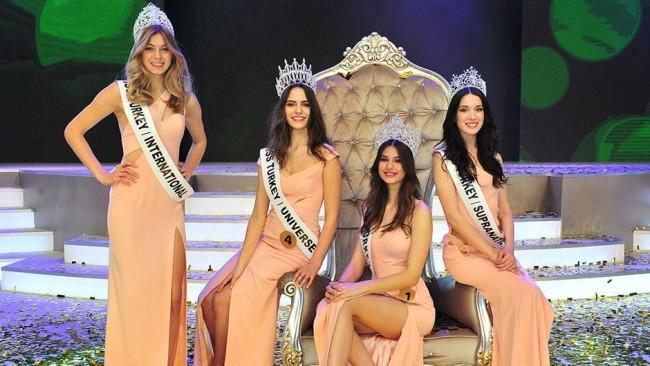 Türkiye'nin 2015 güzeli belli oldu