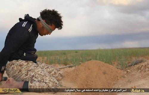 IŞİD kafalarını keserek infaz etti