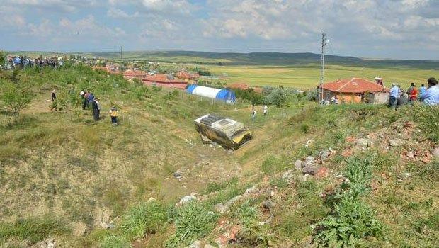 Ankara'da belediye otobüsü kazası