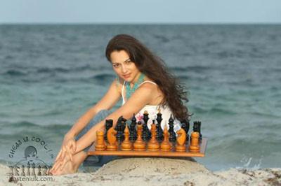 Satranç dünyasının yeni güzeli