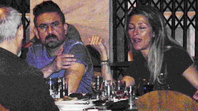 Mustafa Erdoğan kız arkadaşıyla