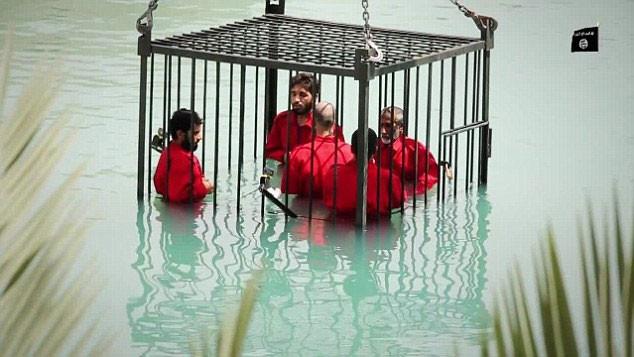 IŞİD'tan korkunç infaz !