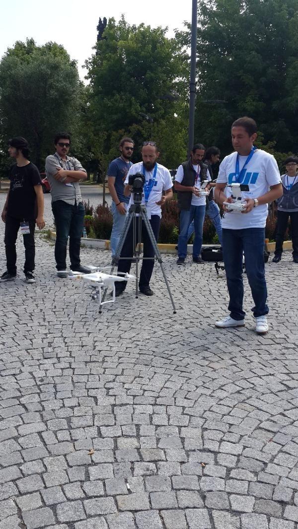 Yıldız Teknik Üniversitesi'nden drone eğitimi