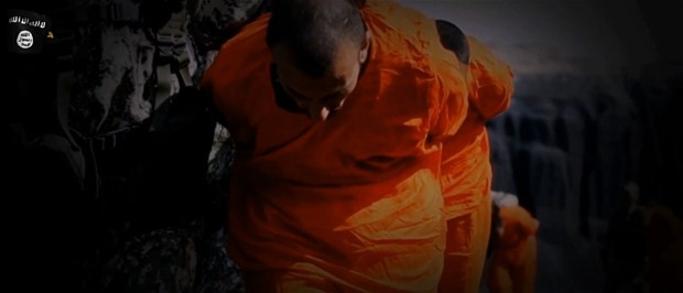 IŞİD 12 İslami cephe militanını infaz etti