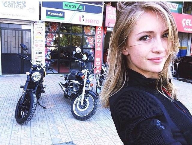 Motosiklet tutkunu ünlüler