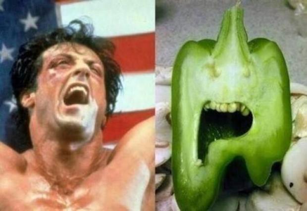 Şekli bozuk sebzeler