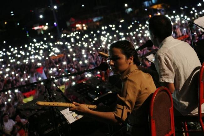 Grup Yorum 30. yılını 'Büyük Konser' ile kutladı